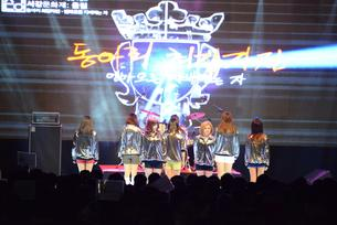 Sophia's popular girl group performed as a special guest for Sogang University festival which happened to be held on the campus.